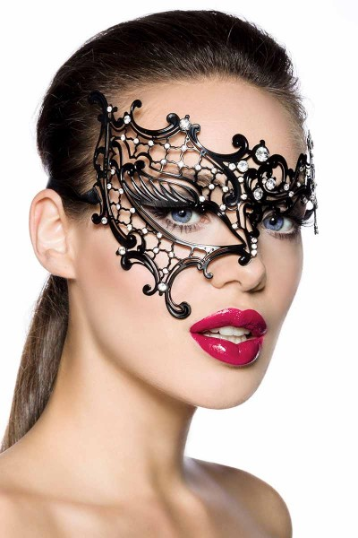 Maske mit Strass