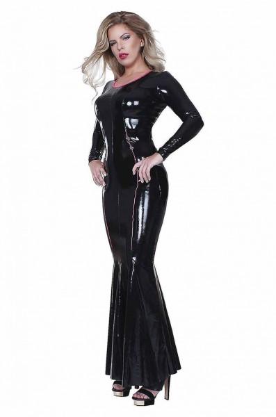 Kleid mit Meerjungfrauen-Volant - Datex