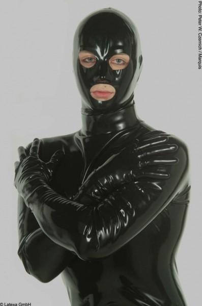 Anatomische Herrenmaske mit Augen- Nase- und Mundöffnung