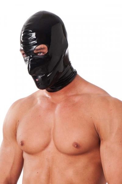 Maske mit Atemloch und offenen Augen